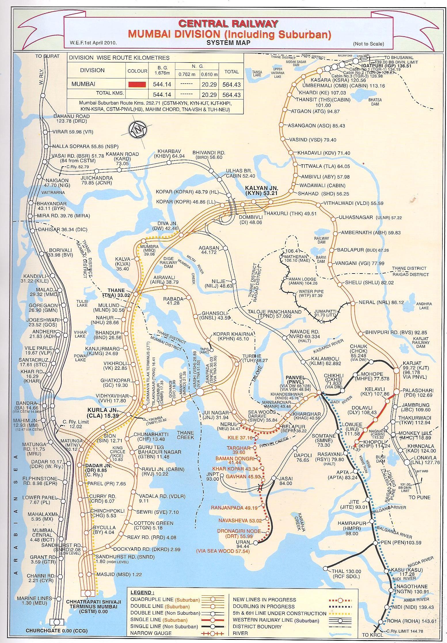 Central Railway / Indian Railways Portal