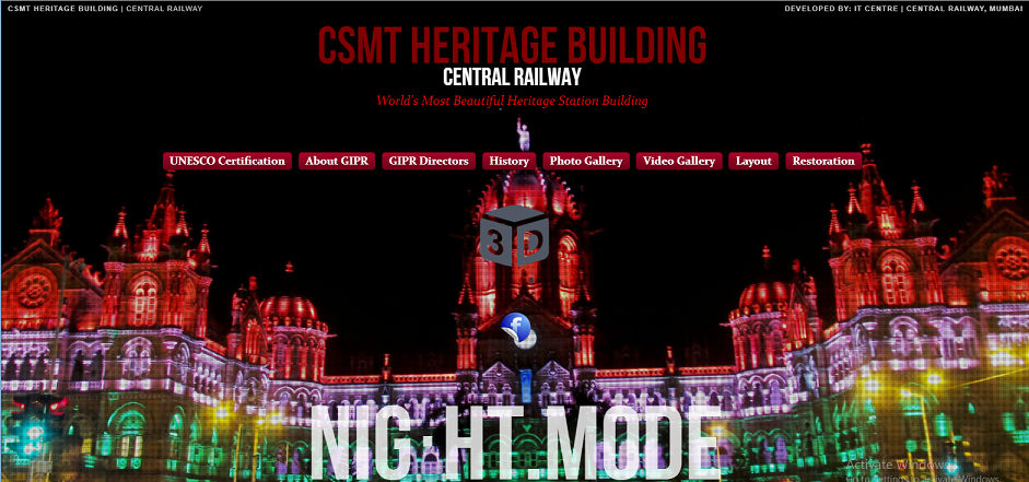 CSMT Heritage Building, Worlds Most Beautiful Station Building
